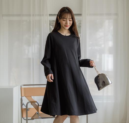 104700 - 임부복*소녀같은 탄탄훌원피스