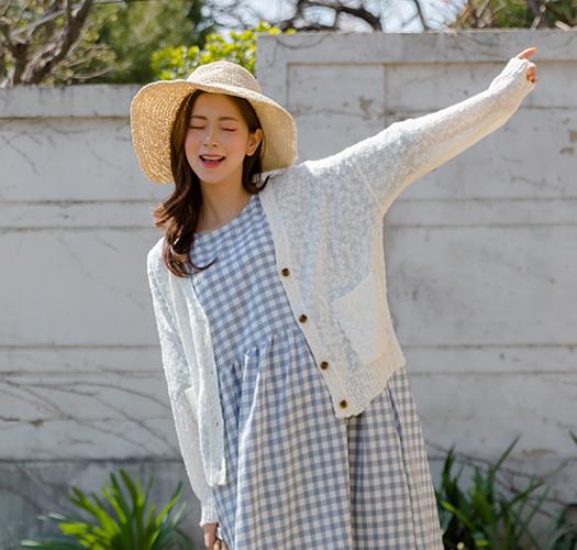 106211 - 임부복*몽글 여름가디건