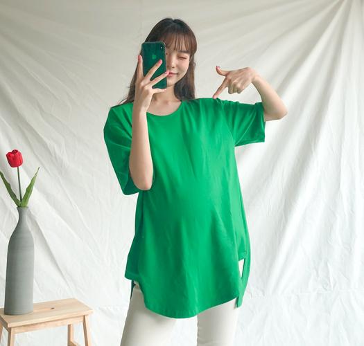 105312 - [기획특가1+1]임부복*탄탄해유 티셔츠