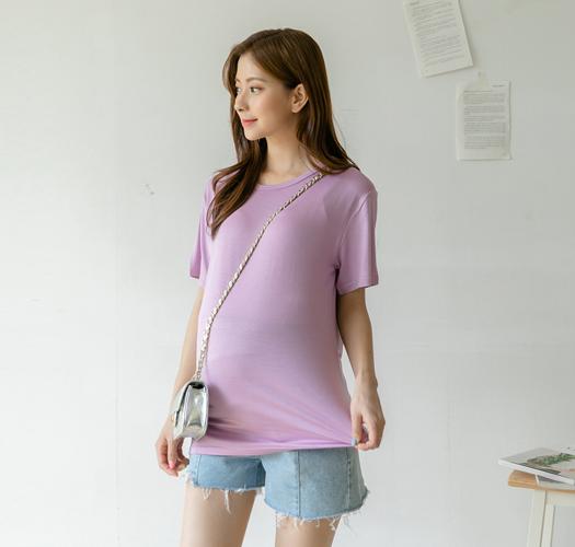 105625 - [기획특가1+1]임부복*찰랑레이온 티셔츠
